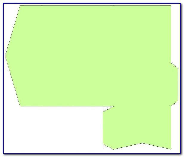 Square Pocketfold Invitation Template