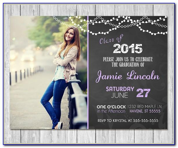 Template Graduation Party Invitation