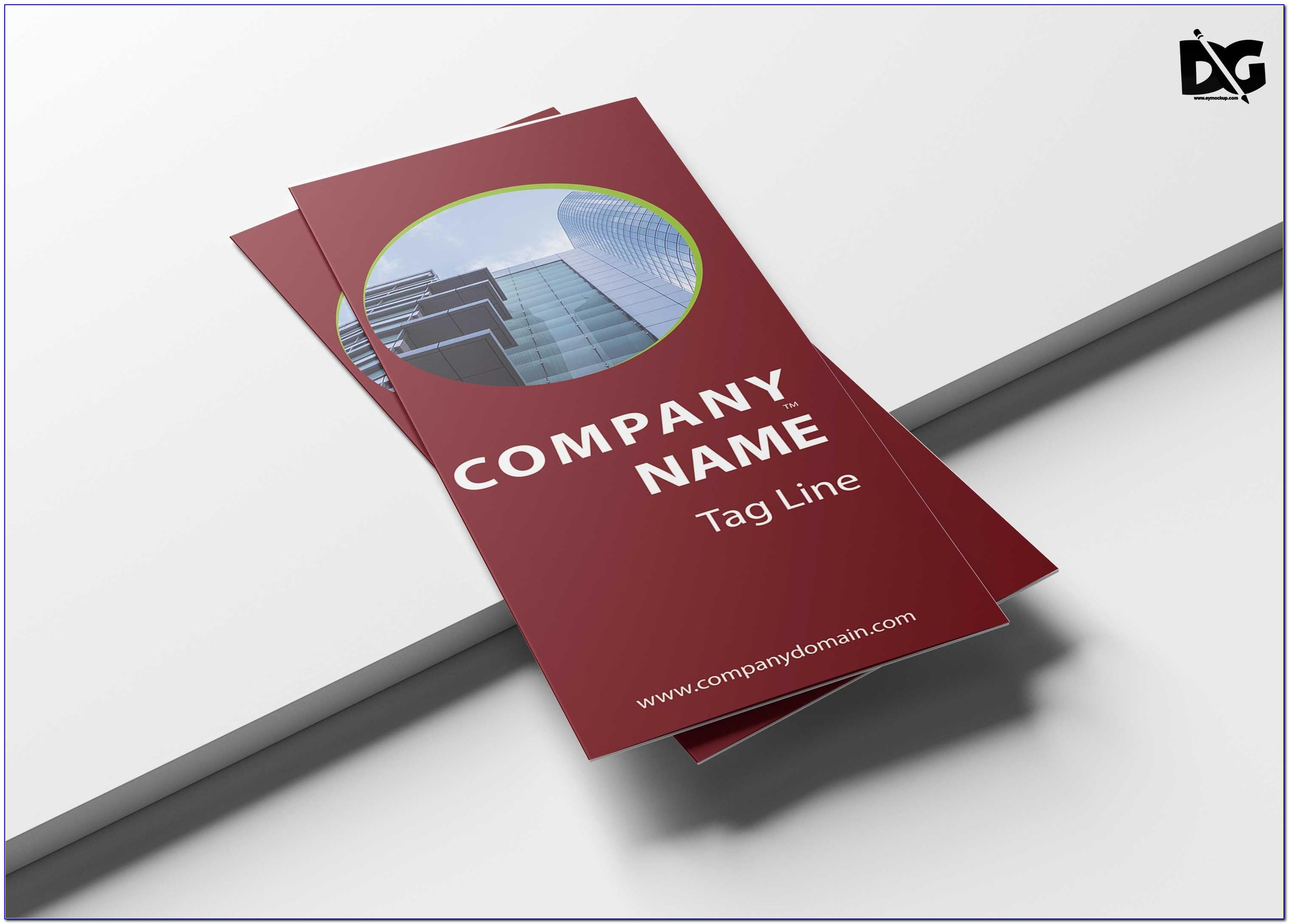 Tri Fold Brochure Template Powerpoint Download
