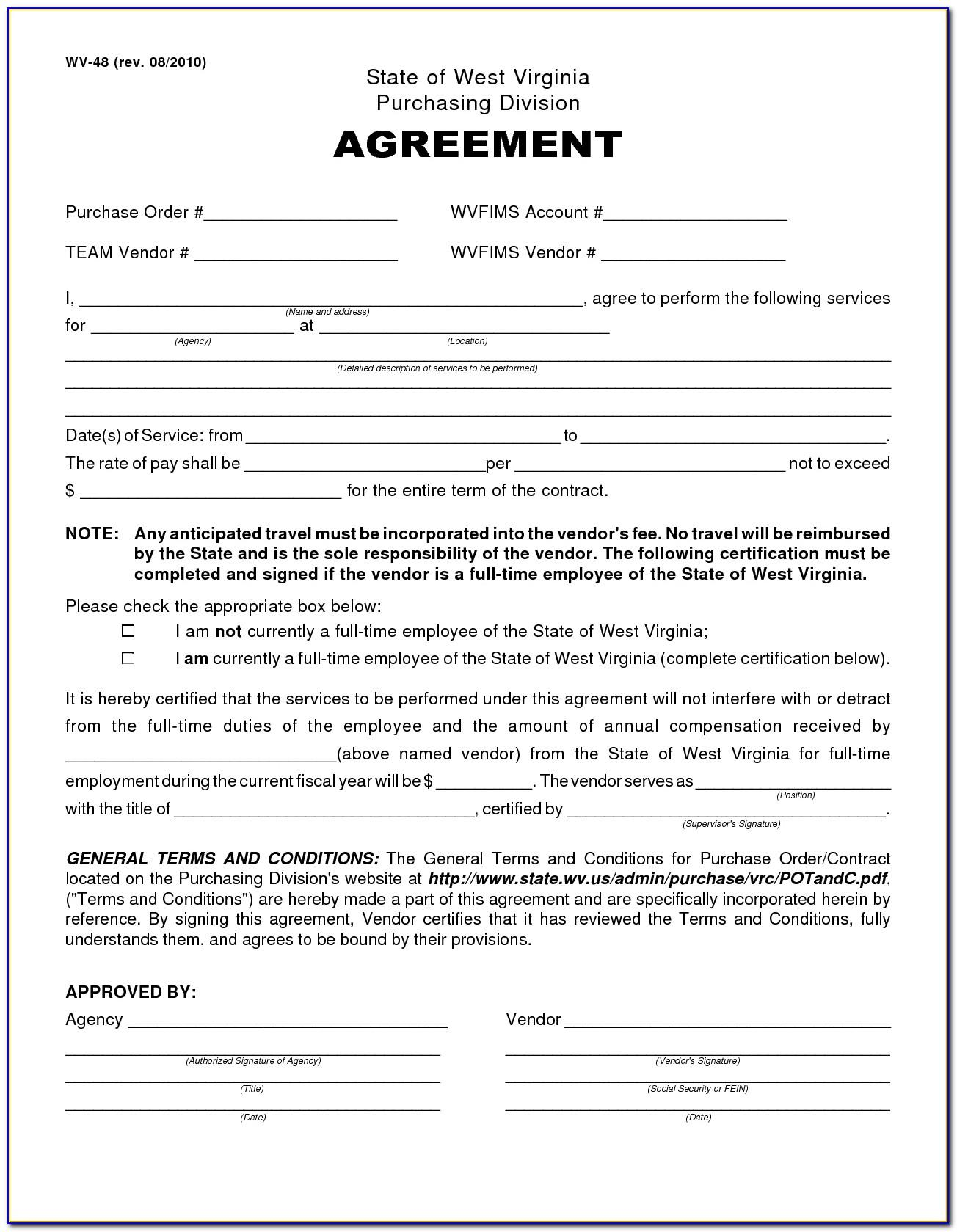 Wholesale Purchase Agreement Template