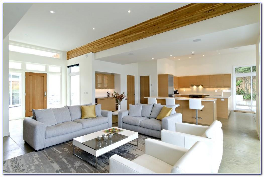 Wohnzimmer Und Kche Ideen