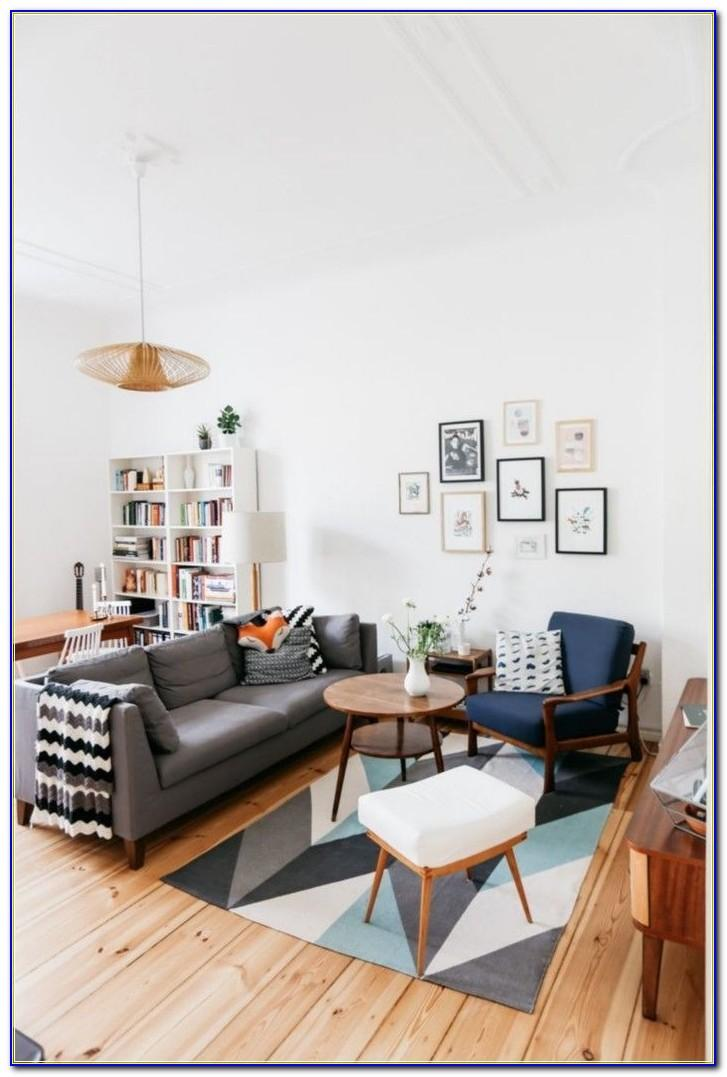 Wohnzimmer Und Schlafzimmer Kombiniert