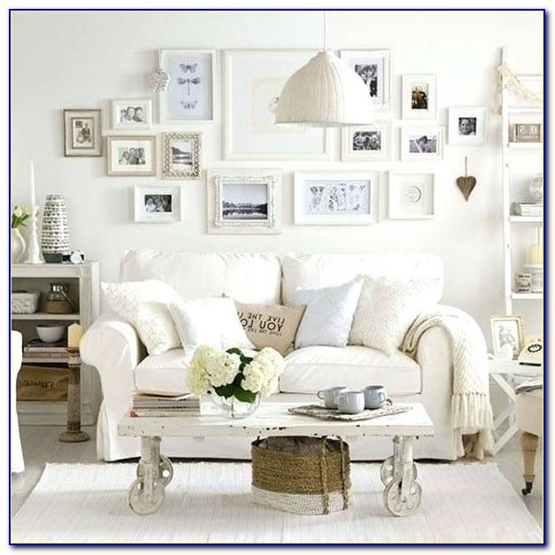 Wohnzimmer Vintage Style Braun