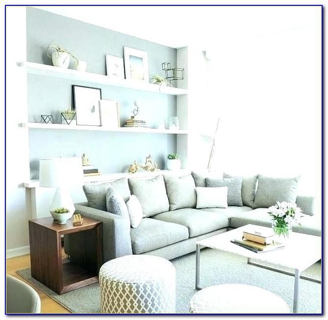 Wohnzimmer Wand Farbig Streichen