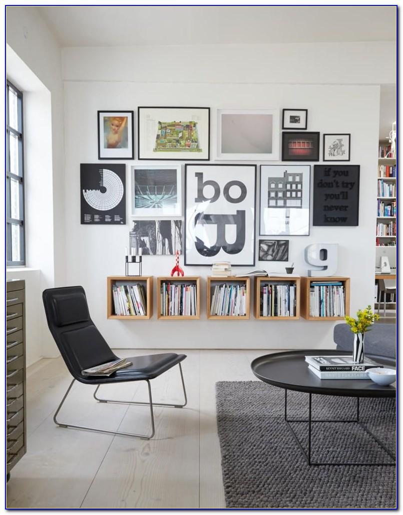 Wohnzimmer Wand Mit Bildern Gestalten