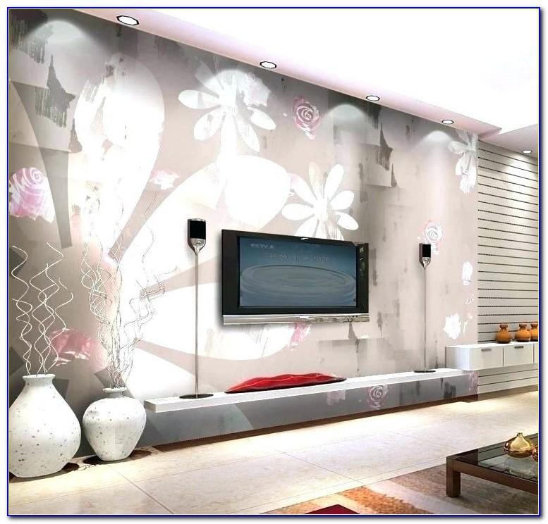 Wohnzimmer Wand Mit Farbe Gestalten