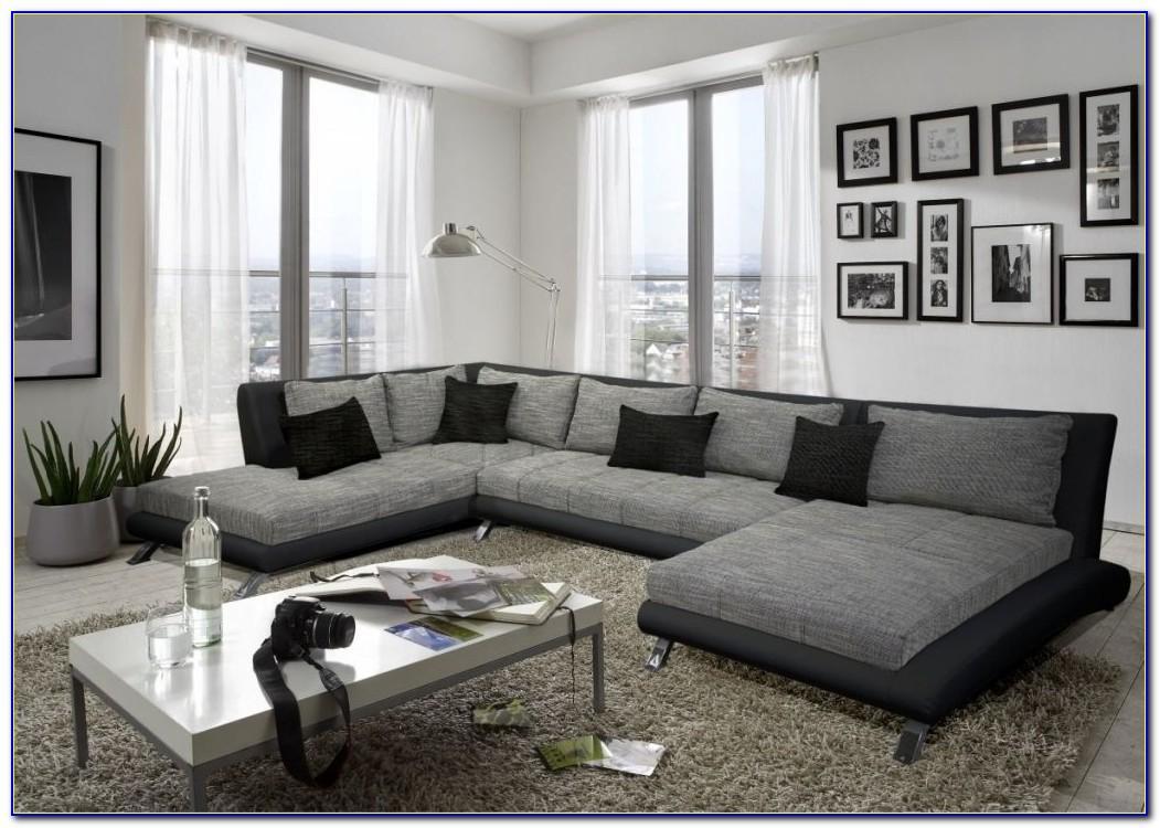 Wohnzimmer Wei Braun Grau