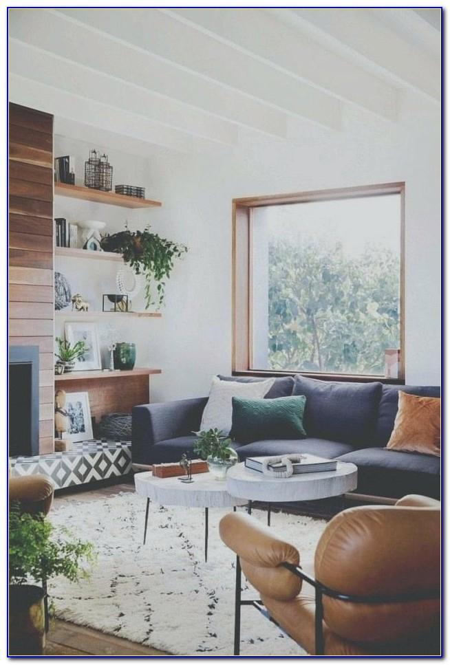 Wohnzimmer Wei Grau Blau