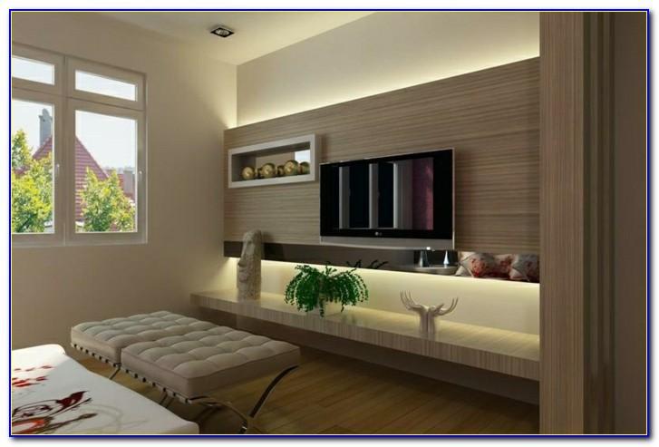 Wohnzimmer Welche Wand Farbig Streichen
