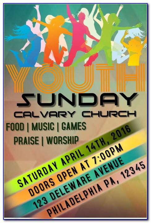Youth Ministry Flyer Templates Free