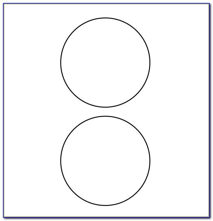 0.75 Circle Labels Template
