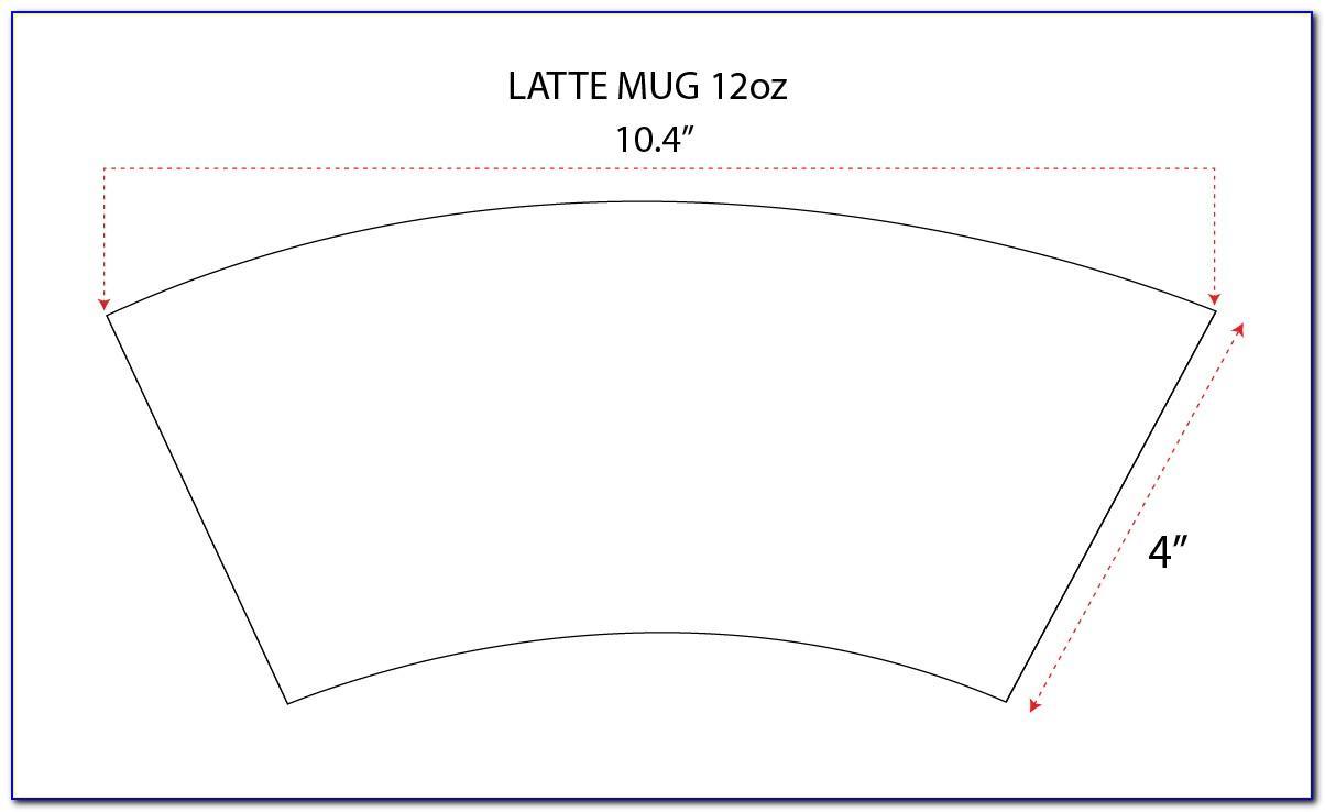 11 Oz Mug Sublimation Template Free Download