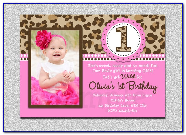 1st Birthday Invitation Card For Baby Boy Templates Free