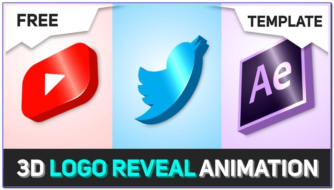 3d Logo Animation After Effects Template Free