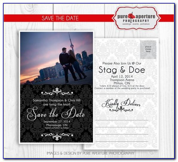 4x6 Save The Date Template