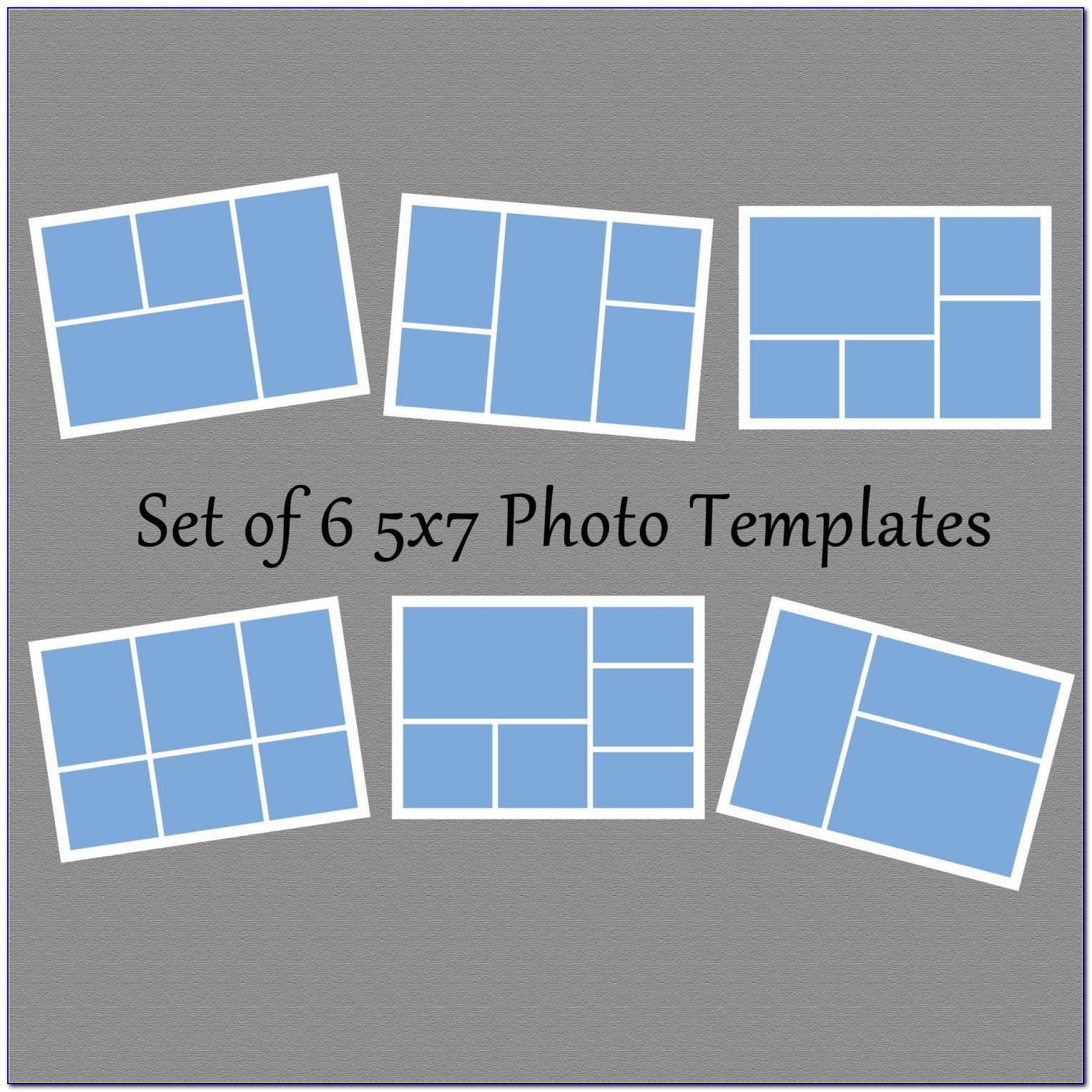 5x7 Photo Collage Template Free