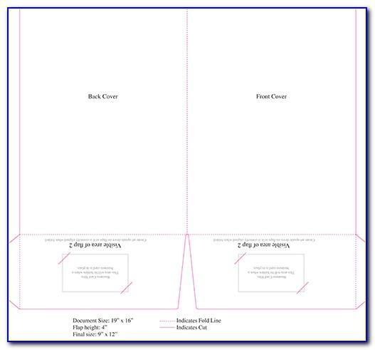 9x12 Brochure Template