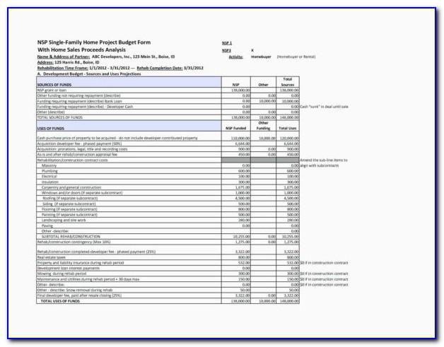 Aia Schedule Of Values Excel Template