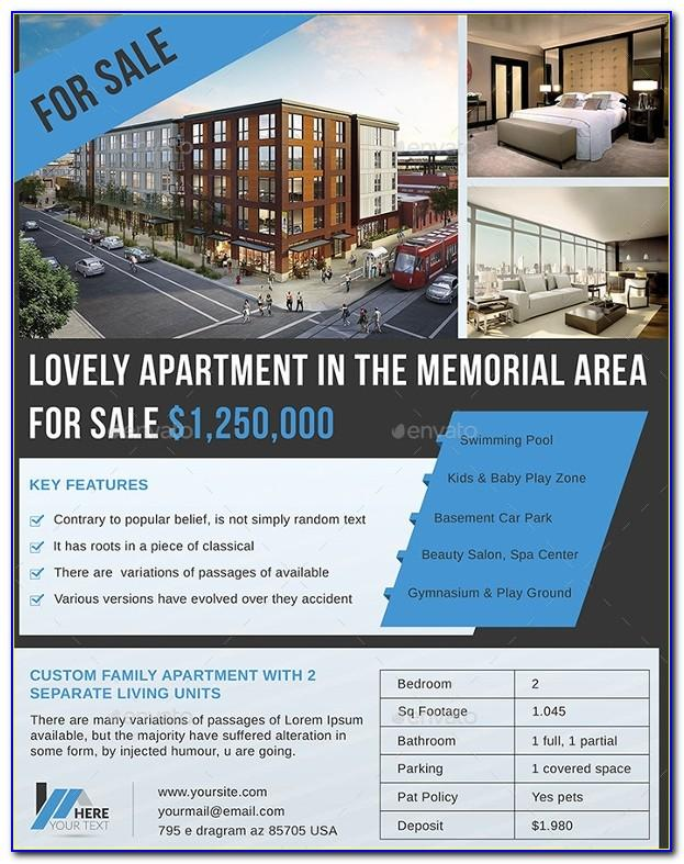 Apartment Marketing Flyer Template