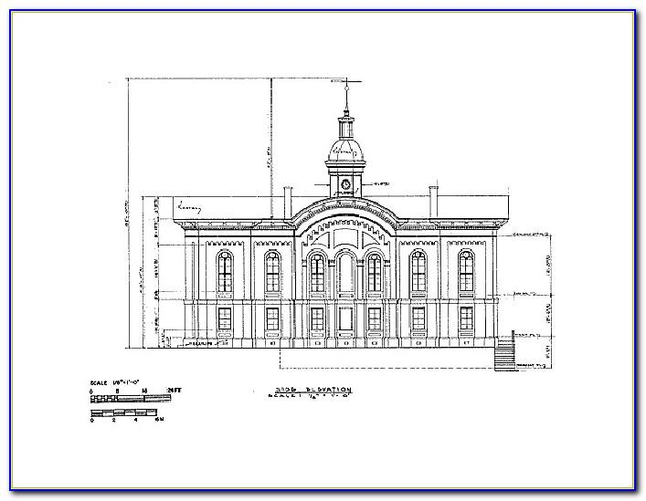 Architectural Drawing Templates Free Download