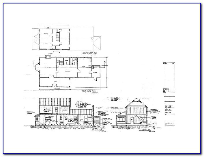 Architectural Drawing Templates Free