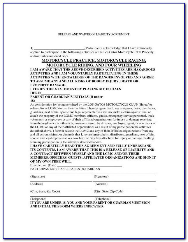 Auto Accident Settlement Agreement Template