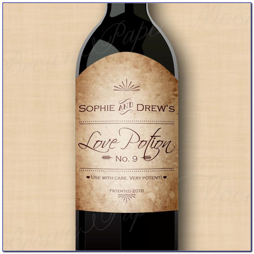 Avery Wine Label Template 22809
