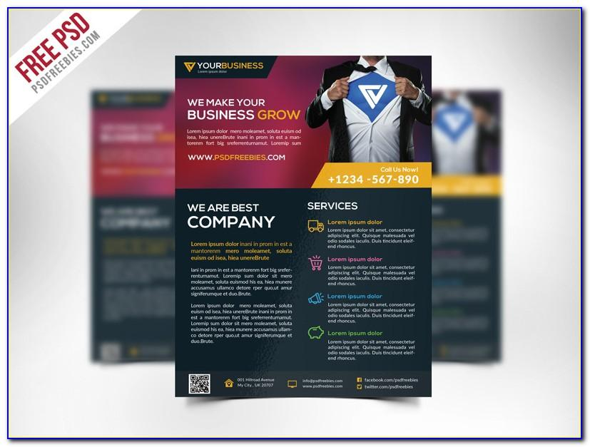 Business Brochure Template Eps Free Download