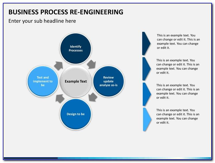 Business Process Reengineering Excel Template