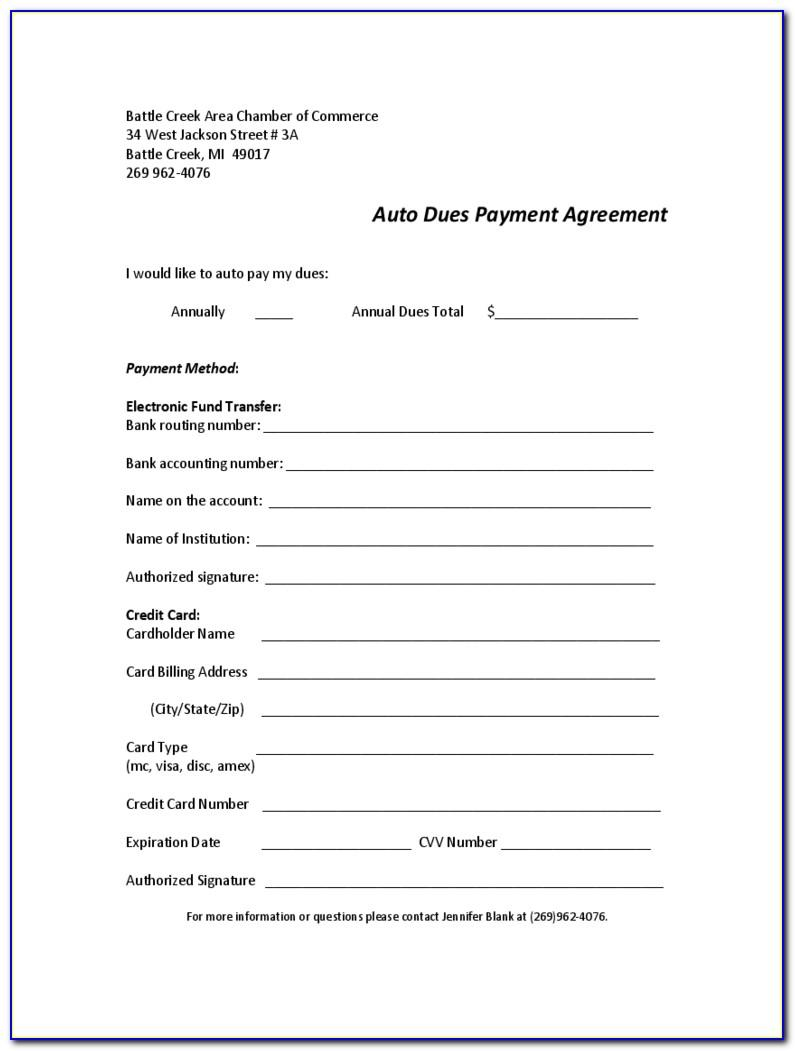 Car Repayment Contract Template