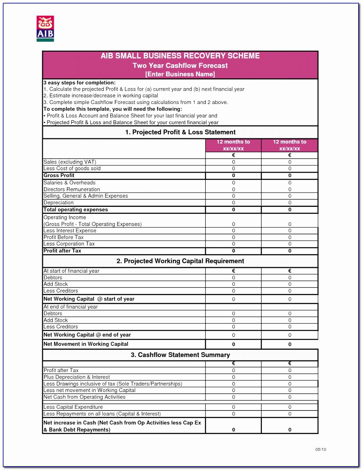Church Annual Financial Report Template