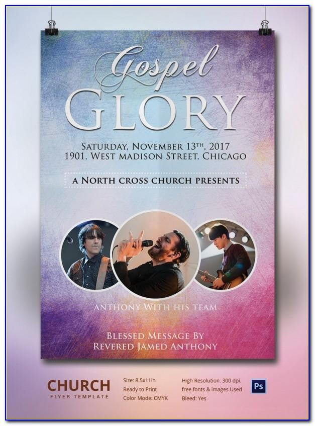 Church Event Flyers Templates