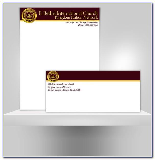 Church Stationery Templates