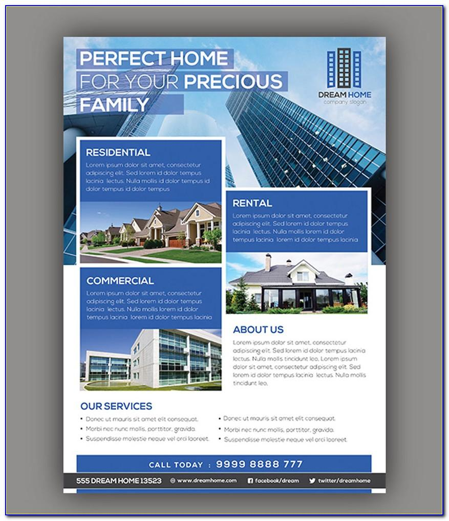Commercial Real Estate Marketing Flyer Template