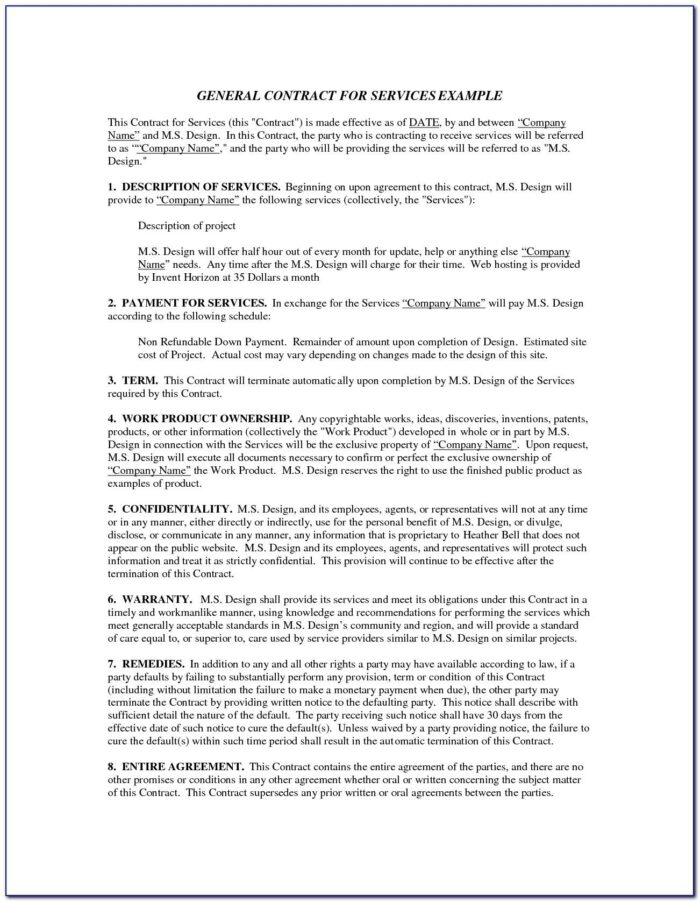 Construction Contract Template Uk