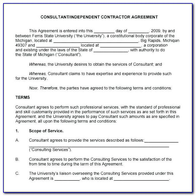 Consultancy Agreement Template Philippines