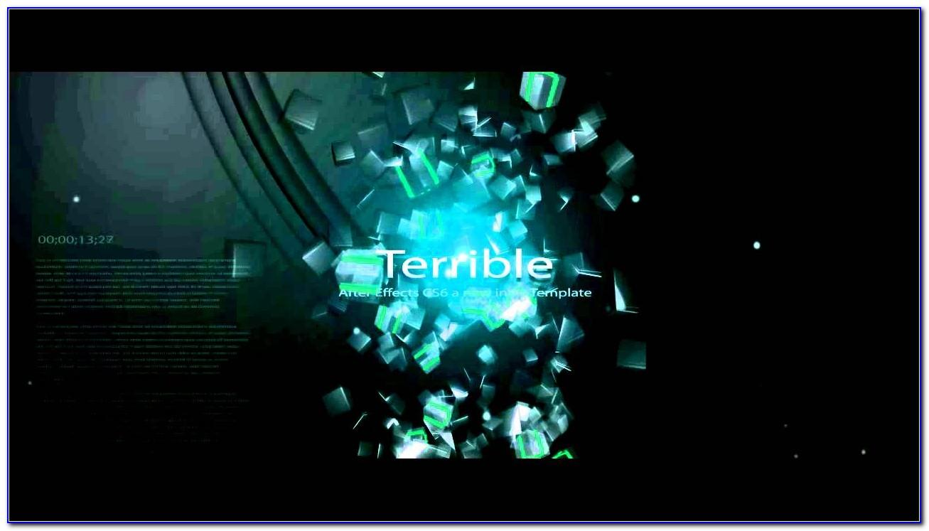 Cs6 After Effects Templates Free