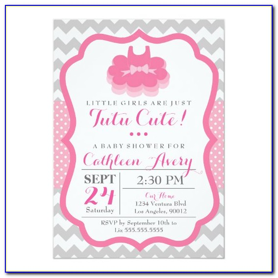 Cute Baby Shower Invitations Templates