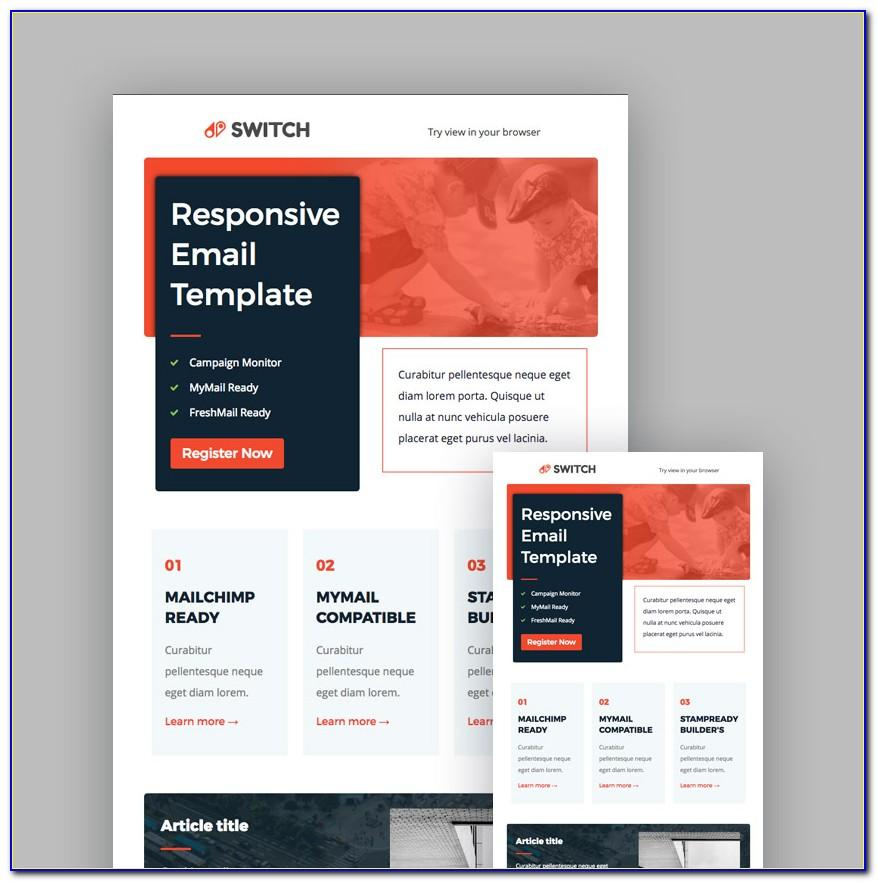 Designing Email Templates For Mailchimp