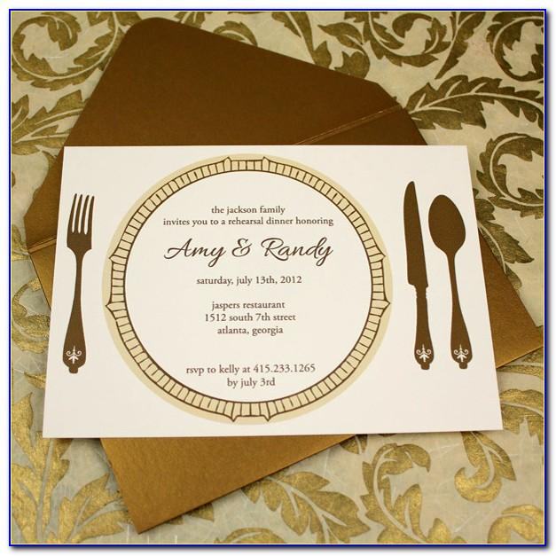 Dinner Invitation Templates Free Download