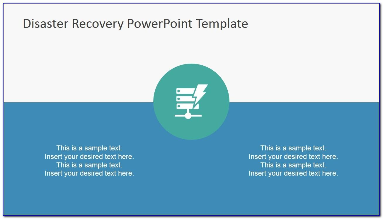 Disaster Recovery Plan Powerpoint Template