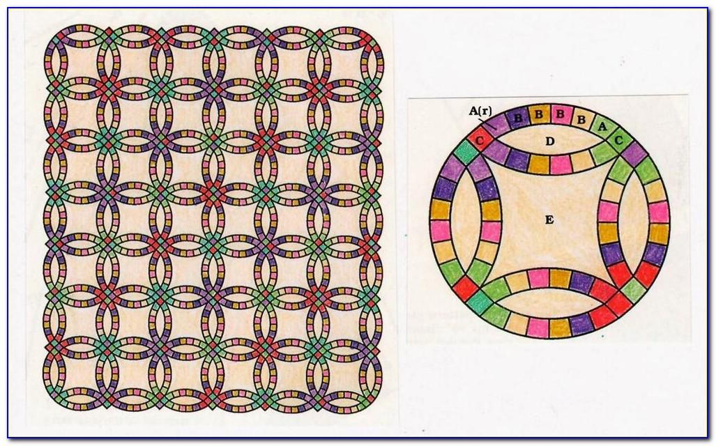 Double Wedding Ring Quilt Patterns