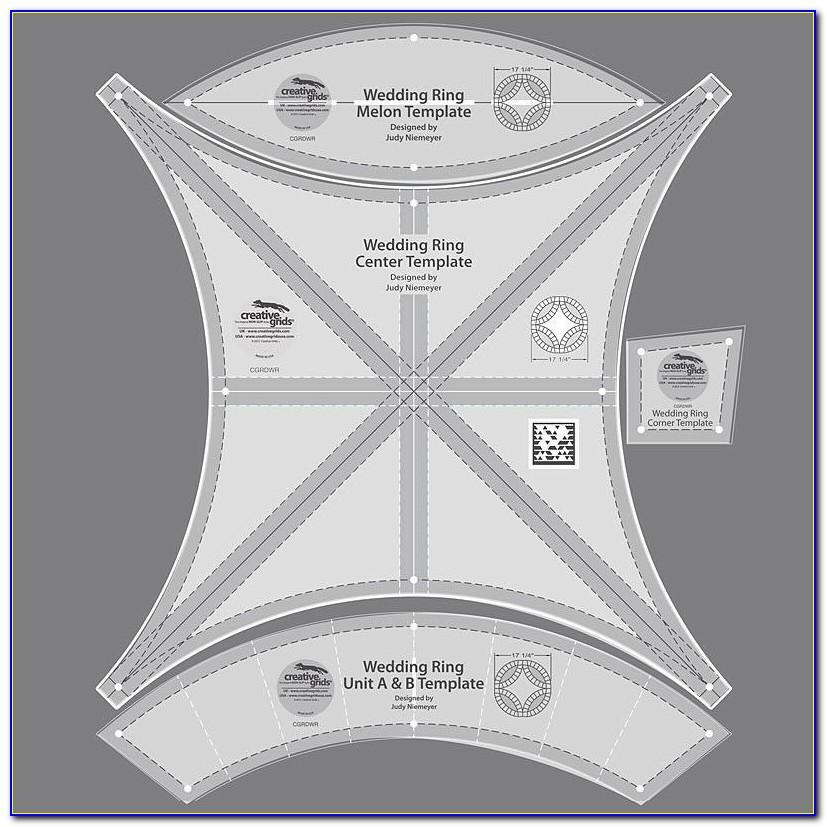 Double Wedding Ring Quilt Templates Uk
