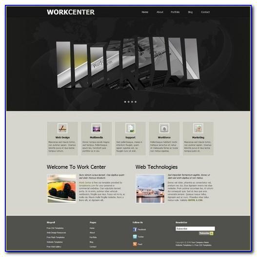 Dreamweaver Website Templates Free Download