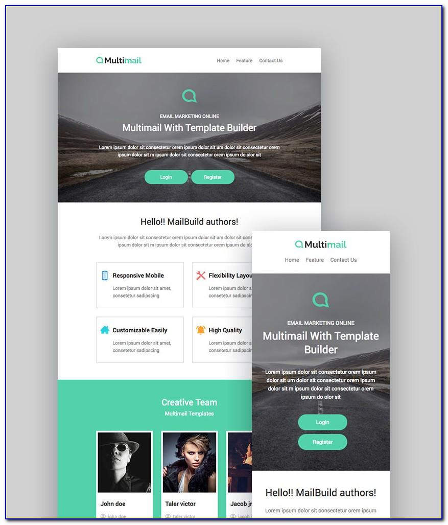 Email Templates For Mailchimp
