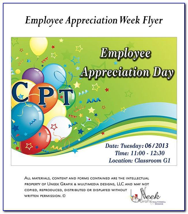Employee Appreciation Day Invitation Samples