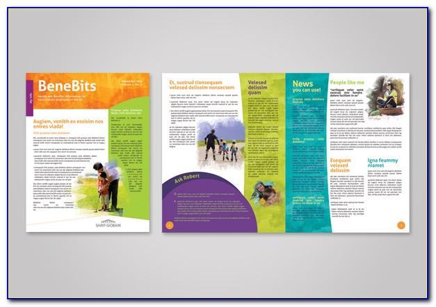 Employee Benefits Brochure Template