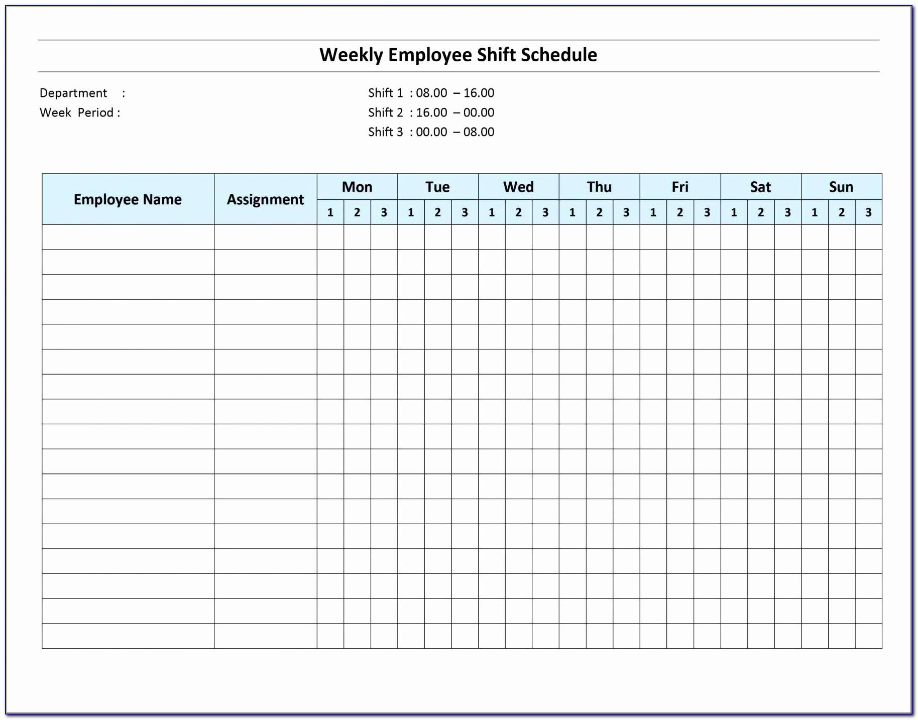 Employee Pto Tracker Excel Template Free