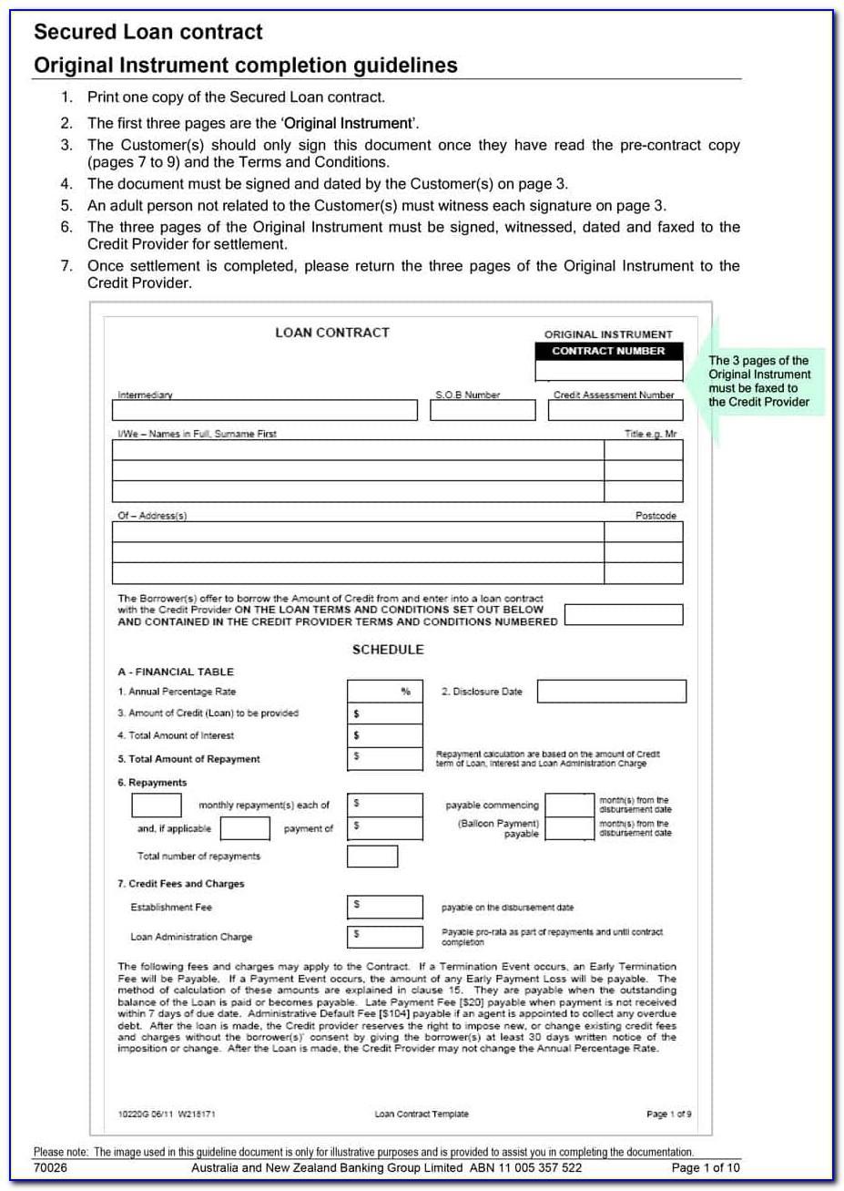 Employment Loan Repayment Agreement Template