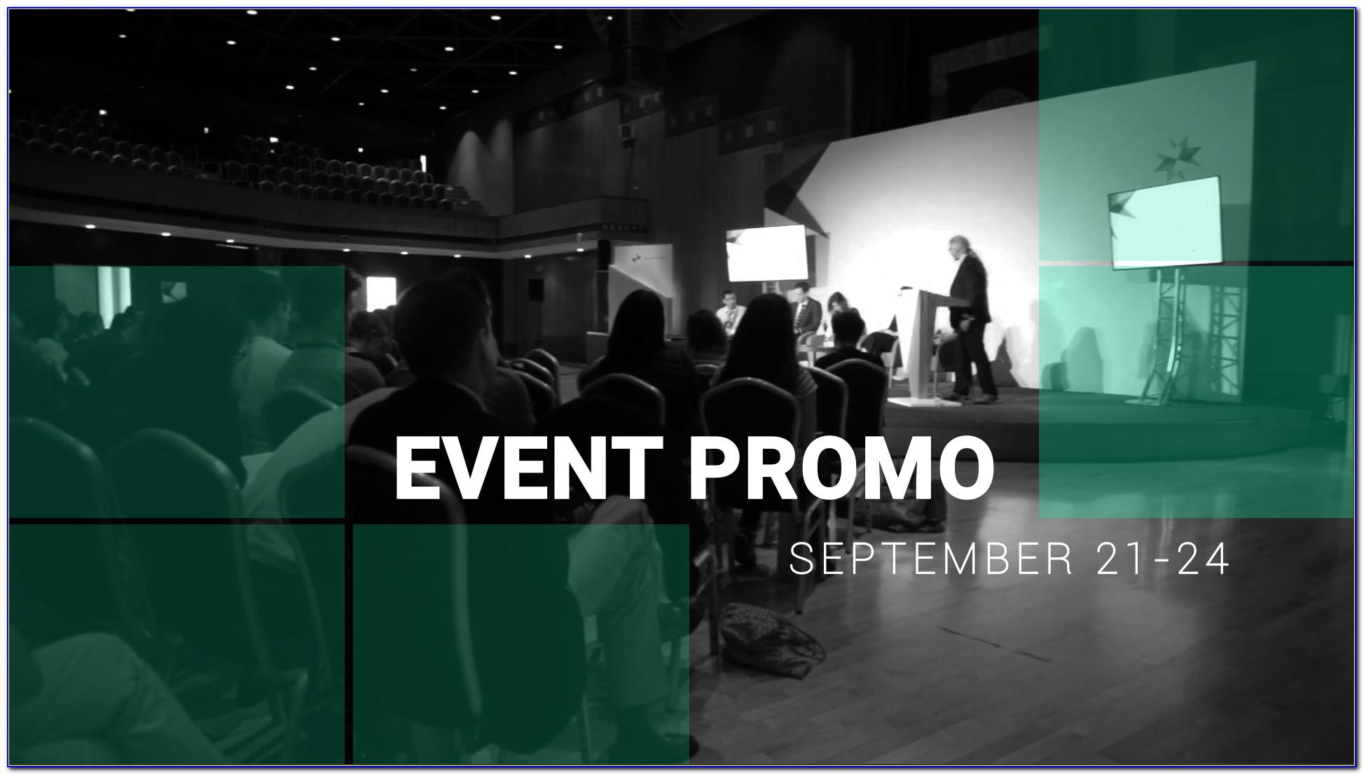 Event Promo Video Template Free Download